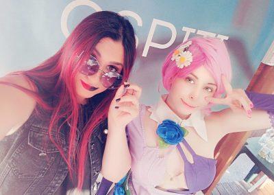 Con Yuriko Tiger - FantaExpo 2019
